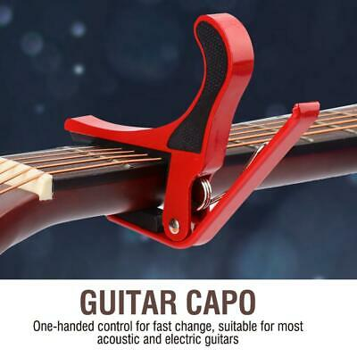 Aluminum Quick Release Guitar Capo Acoustic Electric String Clamp Trigger Tools