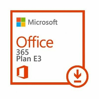 Microsoft Office 365 Entreprise E3 ESD LICENCE KEY 1 user 5 devices 1 YEAR