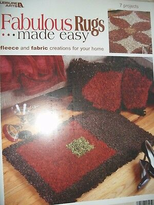 Fabulous Rugs Made Easy Fleece And Fabric Creations For Your Home