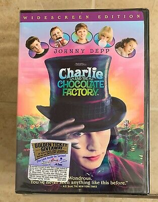 Charlie and the Chocolate Factory (DVD Widescreen) New/Sealed