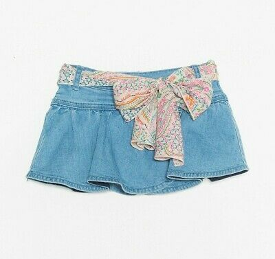 Twin Set Gonna Jeans Denim  Bambina Primavera Estate  2 4 5  Anni