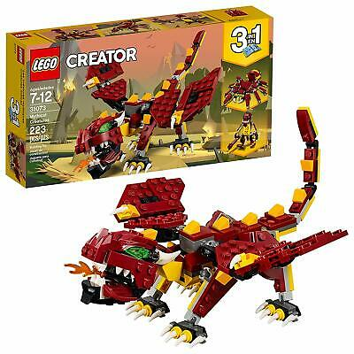 Lego Creator 3 in1 Mythical Creatures 31073 Building Kit 223 Piece Age 7 And up