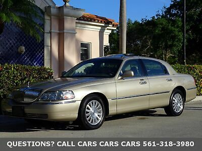 2004 Lincoln Town Car SIGNATURE SERIES-ONLY 53K MILES-LIKE 2005 2006 07 FLORIDA IMMACULATE-1-OWNER-SUNROOF-ABSOLUTELY THE FINEST QUALITY YOU WILL FIND