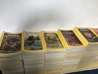 National Geographic Magazines - Over 350