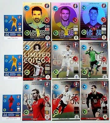 Adrenalyn XL FIFA Euro 2016 XXL Limited Edition aussuchen / choose Panini