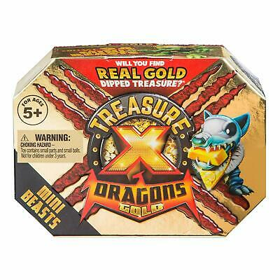 Treasure X Dragons Gold ~ Series 2 ~ Mini Beasts Pack