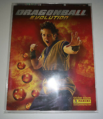 Dragon Ball Evolution Stickers Coleccion Completa
