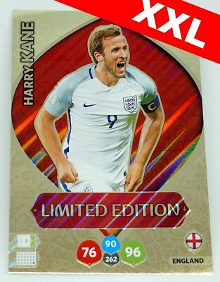 Harry KANE XXL LIMITED EDITION FIFA World Cup Russia 2018 Adrenalyn XL Panini