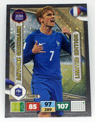 Panini Adrenalyn XL Road To RUSSIA 2018 Fifa World Cup Limited Edition Griezmann