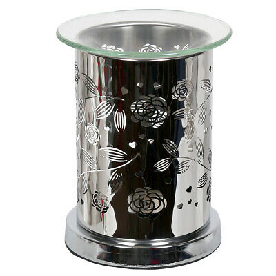 Aroma Mirror Wax Melt Burner, Floral Home Fragrance Decorative Candle Melts Gift