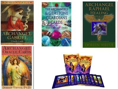 Angel Tarot Archangel oracle cards Michael Raphael Gabriel etc Doreen Virtue UK
