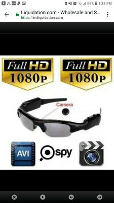 SPECIAL DEAL: 5 Pack of Mobile Eyewear Recorder Sunglasses DVR Camera, 1080P