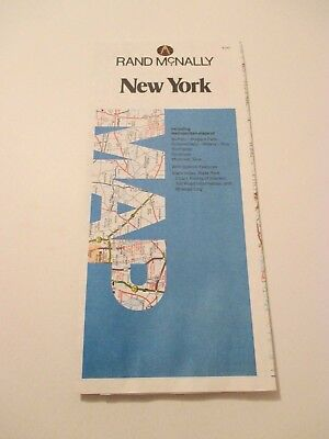 Rand McNally New York Road Map