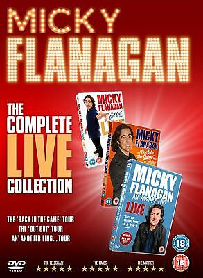 MICKY / MICKEY FLANAGAN - The Complete Live Collection 3 DVD BOX SET NEW