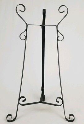 Victorian wrought iron fishbowl​ plant stand french antique vintage