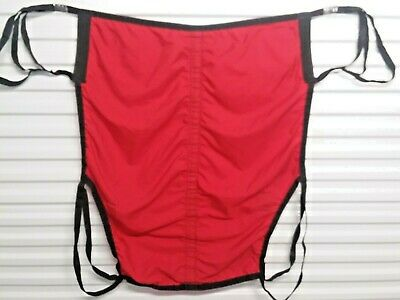 Large Patient Lift Sling Red Full Body 4 Four Point Unbranded