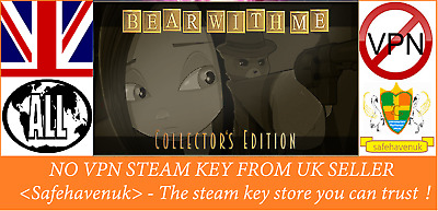 Bear With Me - Collector's Edition Steam key NO VPN Region Free UK Seller