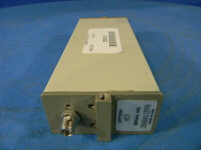 Agilent 33322H Programmable step attenuator; DC-18GHz,110 dB max With Option H23