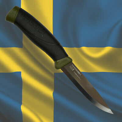 MORAKNIV COMPANION MG Stainless Steel, MORA of Sweden Hunting Bushcraft Knives