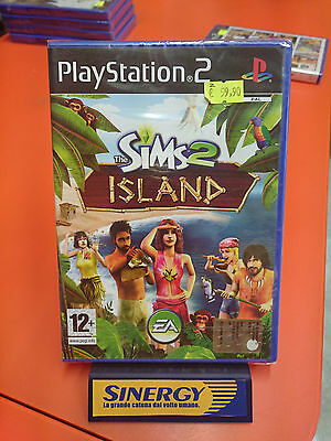 the SIMS 2 ISLAND - play station 2 SONY, nuovo sigillato italiano originale