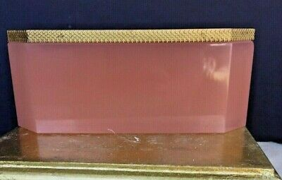 Last One! Huge French Pink Opaline Box Caddy Flower Pot Planter