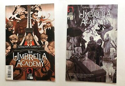 UMBRELLA ACADEMY APOCALYPSE SUITE #1 And 2 First printing GOOD condition