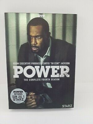 POWER THE COMPLETE FOURTH SEASON DVD Brand New With Slip Cover   *FREE SHIPPING*