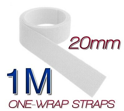 16mm VELCRO BRAND Hook and loop ONE WRAP Double Sided Strapping