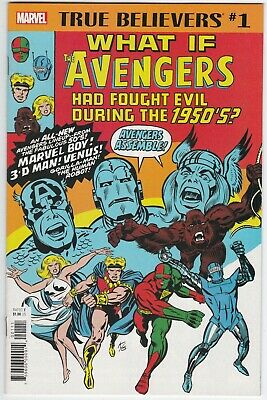 What If Avengers, True Believers  #1 Classic Comic Reprints Marvel 2018 VF