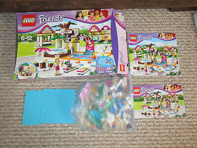 Lego Friends Heartlake City Pool 41008 100 Complete With Box And