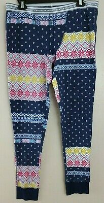 3daf8e8d52 Victoria s Secret Thermal Pajama Pant Waffle Knit size L