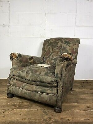 Antique Edwardian Early 20th Century Armchair