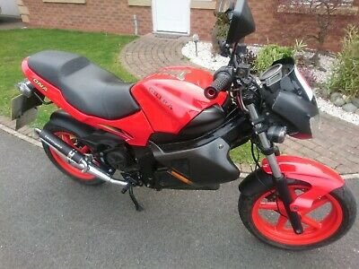 Gilera DNA 50 moped 2008 very good condition
