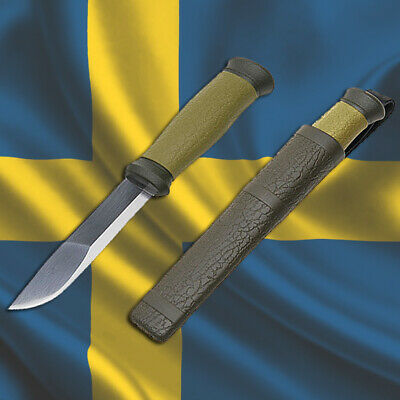 MORAKNIV OUTDOOR 2000 Stainless Steel, MORA of Sweden Survival Bushcraft Knives