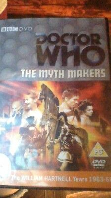 Doctor Who - The Myth Makers FACSIMILE DVD COVER - [NO DVD] Dr Who - Hartnell