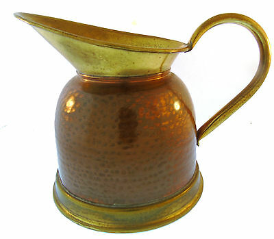 Vintage 1920-30's Weba Ware Copper and Brass Jug Gomm Manufacturing Co