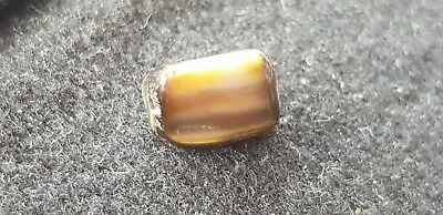 Beautiful Roman shale type bead very wearable ancient artifact very rare L55f