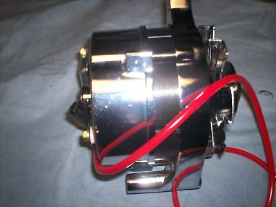 FORD 1G MUSTANG ONE WIRE Alternator / Generator 65-67 68 69 70-71 72 1974 CHROME