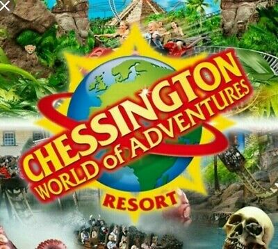 Chessington World of Adventures 2 x Tickets (10TH MAY 2019)