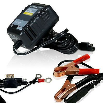 12V Battery Charger Maintainer Trickle for Harley Davidson Motorcycles Car Auto