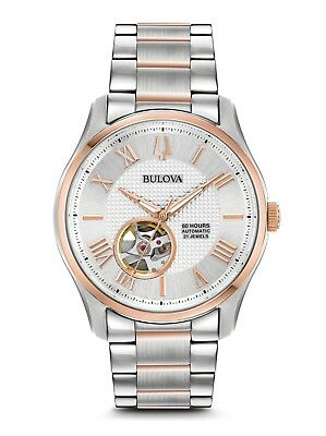 Bulova 98A213 Men's Automatic Two-Tone Stainless Steel 42mm Case Watch