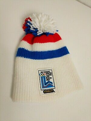Vintage XIII Olympic Winter Games 1980 Lake Placid Beanie