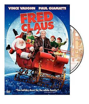Fred Claus (DVD, 2008) Brand New Sealed