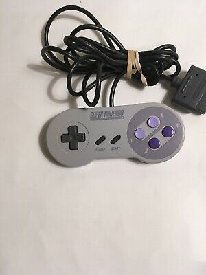 Super Nintendo SNES Official Wired Controller OEM