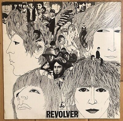 "The Beatles ‎– Revolver 12"" Vinyl LP Rock Psychedelic Rock 1971 PCS 7009 EX+"