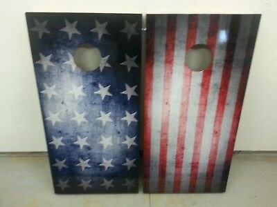 Stars & Stripes Corn Hole Boards - Bean Bag Toss Game