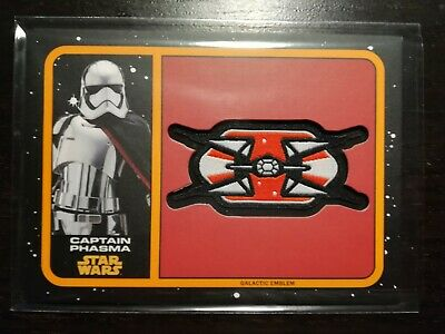 Topps Star Wars Journey to the Last Jedi Captain Phasma 94/99 Orange Patch MP-CP