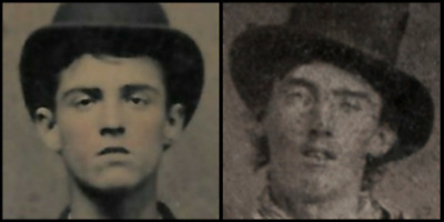 Fantastic Tintype of a Young Man who Bears a Strong Resemblance to Billy the Kid
