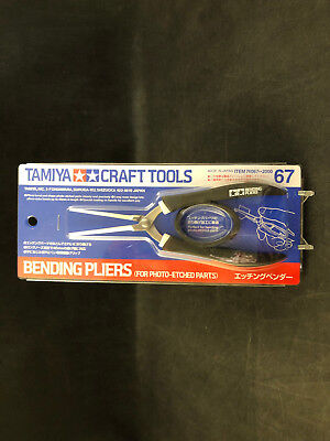 Tamiya Craft Tools Bending Pliers (For Photo-Etched Parts)  # 74067