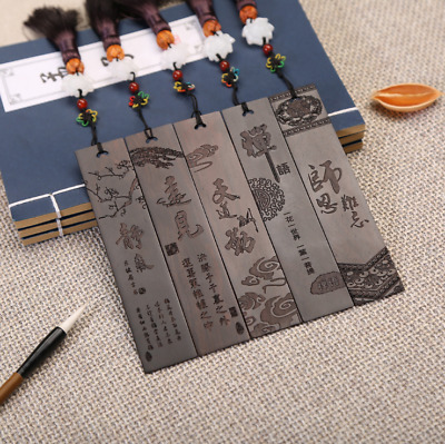 1 Pcs Wood Bookmark Chinese Style Book Mark Gift for Student Book Reading Random